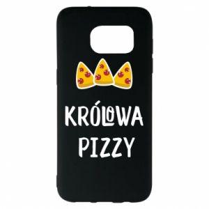 Samsung S7 EDGE Case Pizza queen