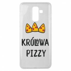 Samsung J8 2018 Case Pizza queen