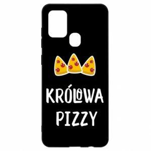 Samsung A21s Case Pizza queen
