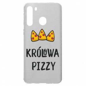 Etui na Samsung A21 Królowa pizzy