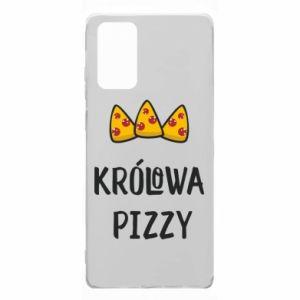 Etui na Samsung Note 20 Królowa pizzy