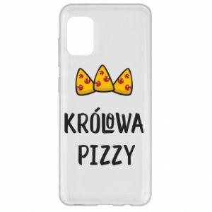 Etui na Samsung A31 Królowa pizzy