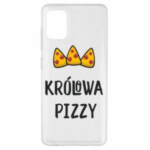 Etui na Samsung A51 Królowa pizzy