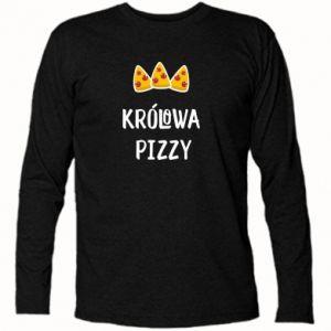 Koszulka z długim rękawem Królowa pizzy