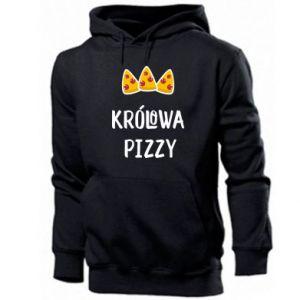 Męska bluza z kapturem Królowa pizzy