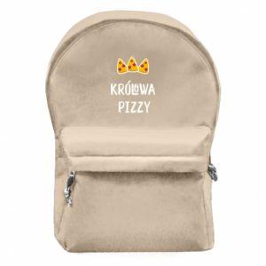 Plecak z przednią kieszenią Królowa pizzy