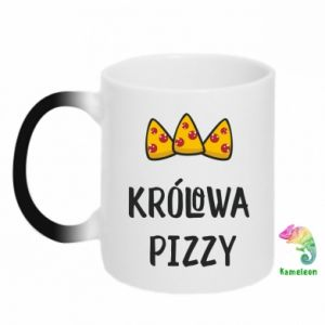 Kubek-kameleon Królowa pizzy