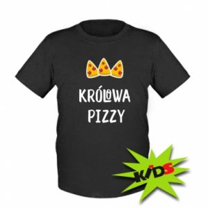 Kids T-shirt Pizza queen