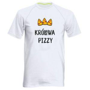 Men's sports t-shirt Pizza queen