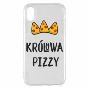 iPhone X/Xs Case Pizza queen