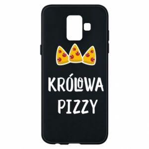 Samsung A6 2018 Case Pizza queen