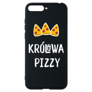 Huawei Y6 2018 Case Pizza queen