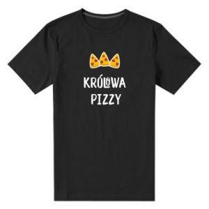 Męska premium koszulka Królowa pizzy