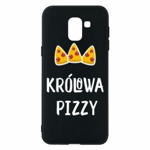 Samsung J6 Case Pizza queen