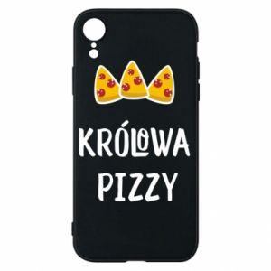iPhone XR Case Pizza queen