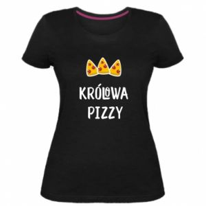 Damska premium koszulka Królowa pizzy