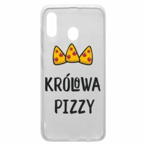 Samsung A20 Case Pizza queen