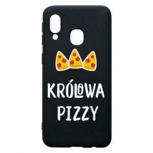 Samsung A40 Case Pizza queen