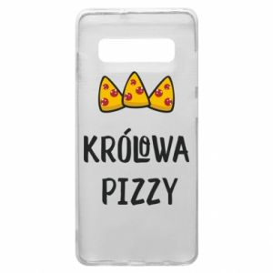 Samsung S10+ Case Pizza queen