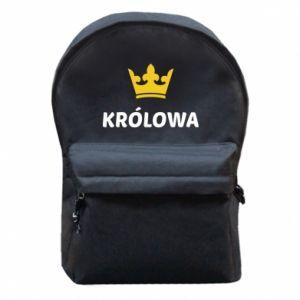 Plecak z przednią kieszenią Królowa
