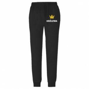Spodnie lekkie męskie Królowa