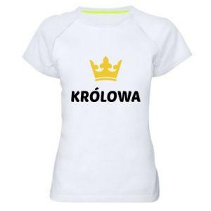 Koszulka sportowa damska Królowa
