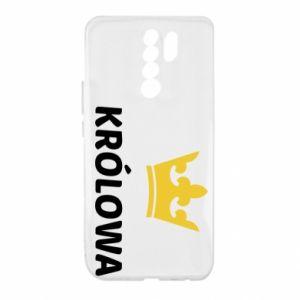 Etui na Xiaomi Redmi 9 Królowa