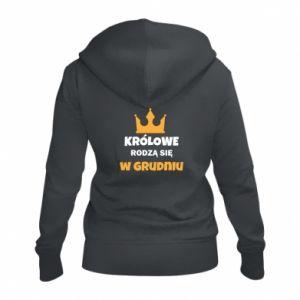 Damska bluza na zamek Królowe rodzą się w grudniu