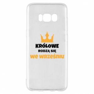 Etui na Samsung S8 Królowe rodzą się w grudniu