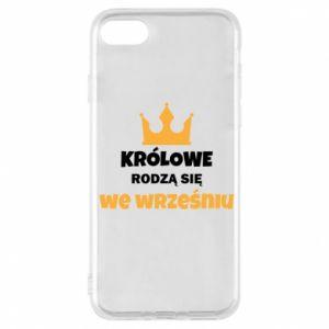 Etui na iPhone 7 Królowe rodzą się w grudniu