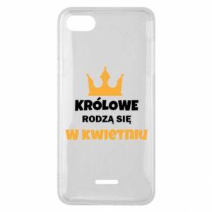 Etui na Xiaomi Redmi 6A Królowe rodzą się w kwietniu