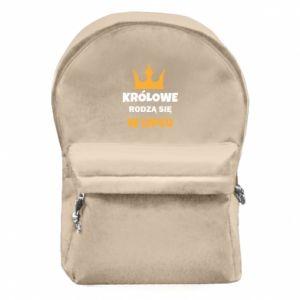 Plecak z przednią kieszenią Królowe rodzą się w lipcu