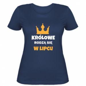 Damska koszulka Królowe rodzą się w lipcu