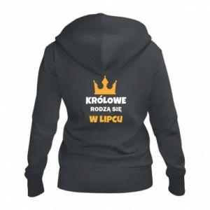 Damska bluza na zamek Królowe rodzą się w lipcu