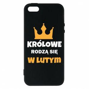 Etui na iPhone 5/5S/SE Królowe rodzą się w lutym