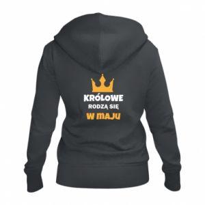 Damska bluza na zamek Królowe rodzą się w maju