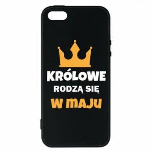Etui na iPhone 5/5S/SE Królowe rodzą się w maju