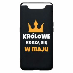 Phone case for Samsung A80 Queens are born in May