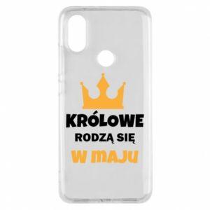 Etui na Xiaomi Mi A2 Królowe rodzą się w maju