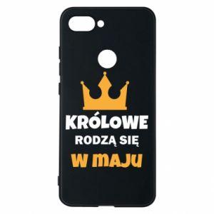 Etui na Xiaomi Mi8 Lite Królowe rodzą się w maju