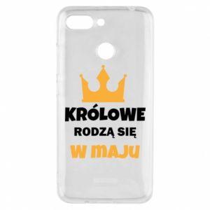 Etui na Xiaomi Redmi 6 Królowe rodzą się w maju