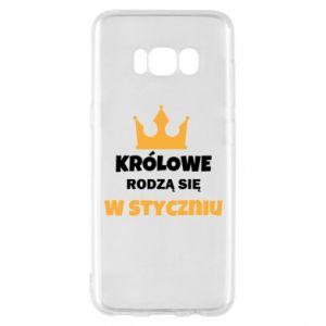 Etui na Samsung S8 Królowe rodzą się w styczniu