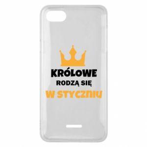Etui na Xiaomi Redmi 6A Królowe rodzą się w styczniu