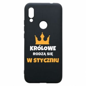 Etui na Xiaomi Redmi 7 Królowe rodzą się w styczniu