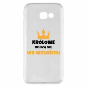 Phone case for Samsung A5 2017 Queens are born in September