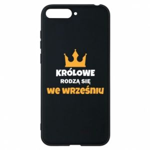 Phone case for Huawei Y6 2018 Queens are born in September
