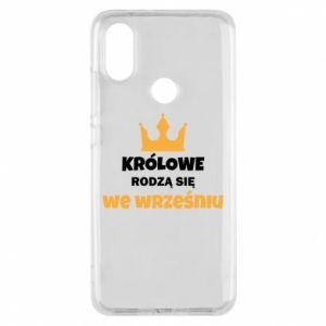 Etui na Xiaomi Mi A2 Królowe rodzą się we wrześniu