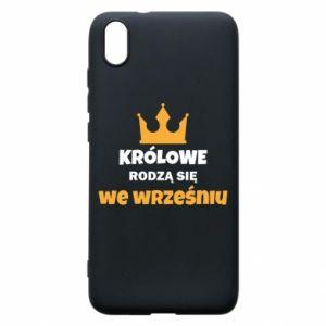 Etui na Xiaomi Redmi 7A Królowe rodzą się we wrześniu