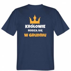 Koszulka Królowie rodzą się w grudniu
