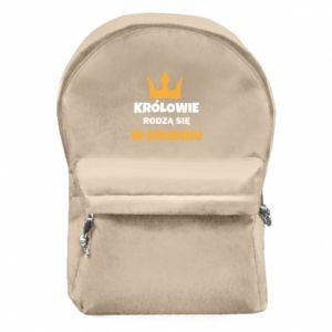 Plecak z przednią kieszenią Królowie rodzą się w grudniu